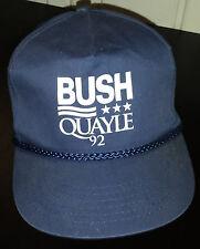 Vintage 1992 Bush / Quale  Presidential Campaign Snapback Hat