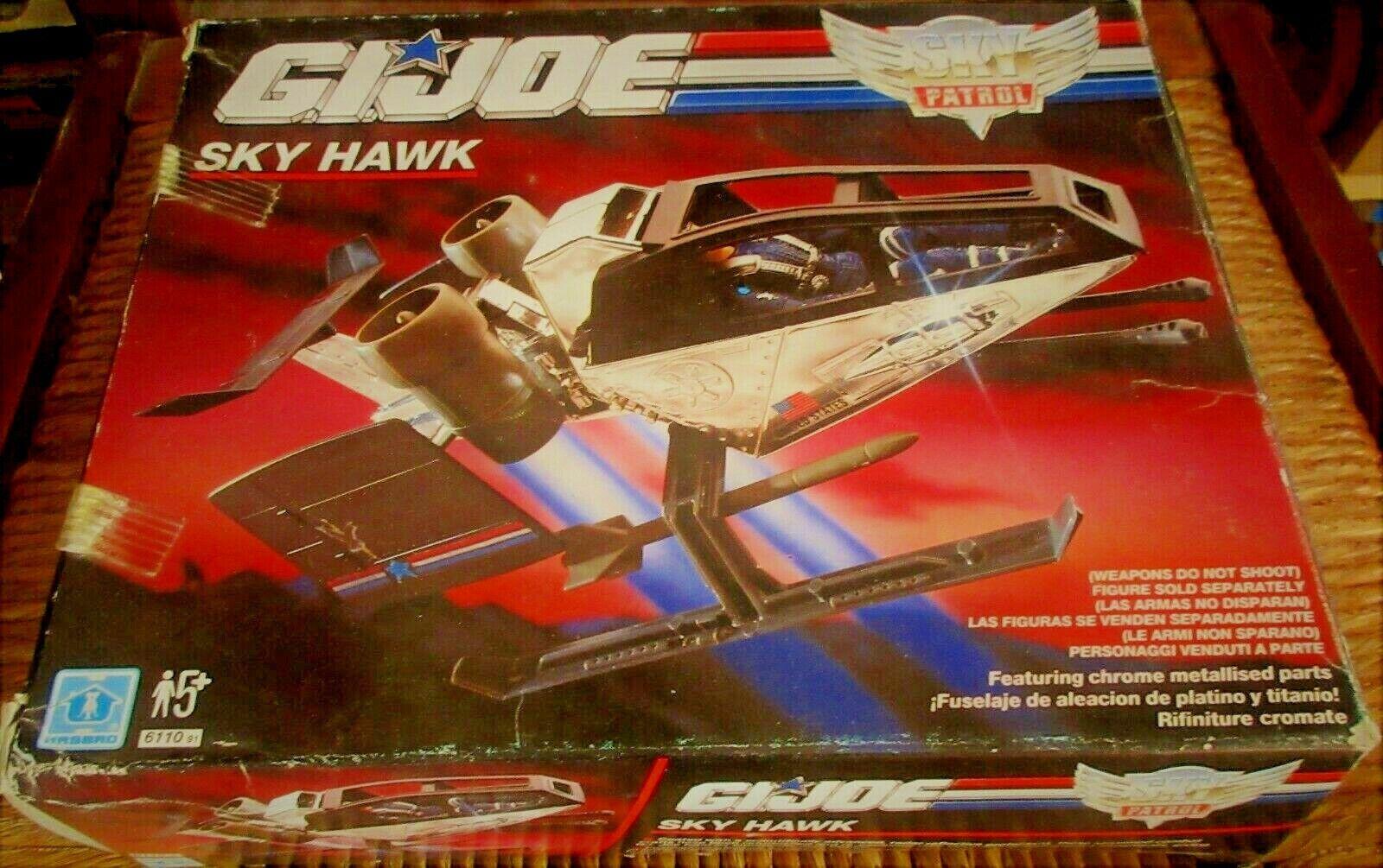 comprar nuevo barato Vintage De Gi Joe 1991-Sky Patrol HAWK-Versión Europea Europea Europea Menta en caja HASBRO  Envío rápido y el mejor servicio