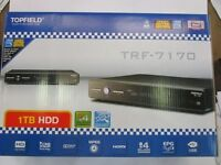 Topfield 1tb Pvr Dvr Trf-7170 Brand In Box 1 Tb Hdd