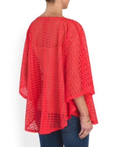 Femmes Gauge Neuf Crochet Rouge Avec L Étiquettes amp; Cerise Cable Maille Fgqx11