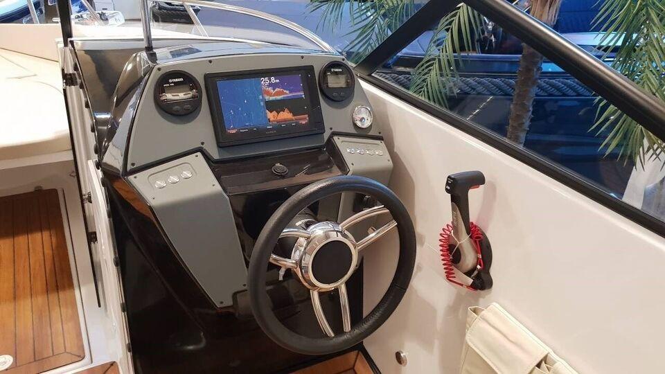 Coaster 600 BR m/100 HK Yamaha og udstyr, Motorbåd, årg.