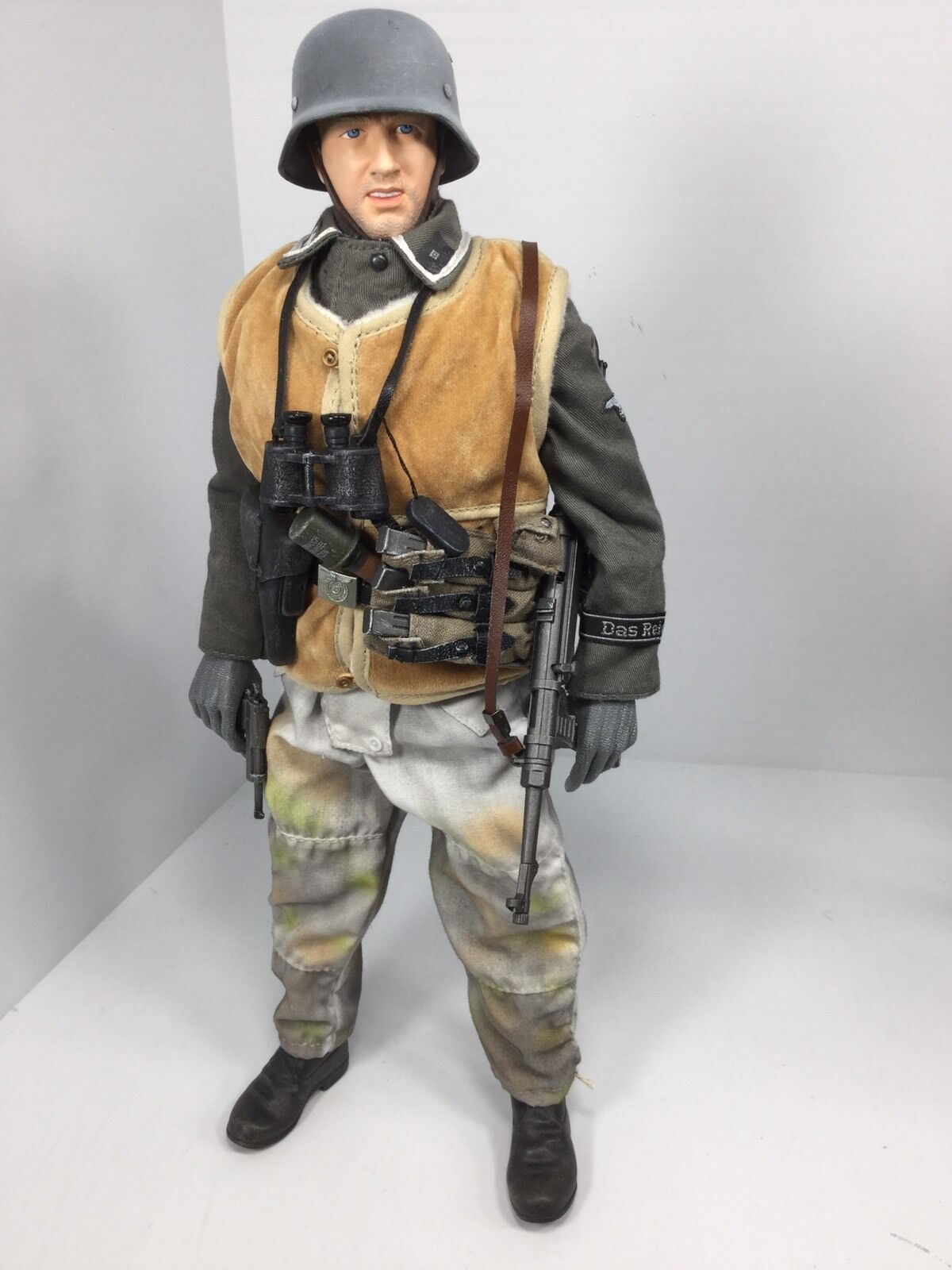 1 6 DRAGON GERMAN 2ND SS DIV NCO MP-40 P-38 WINTER GEAR DID 21st BBI