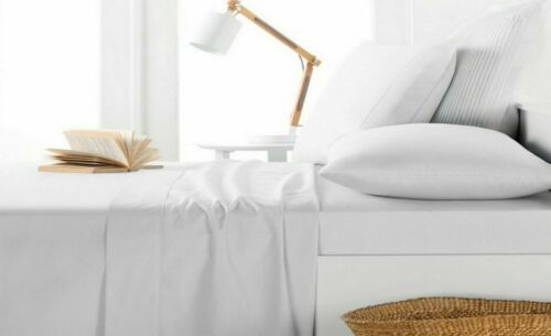 Base Valance Sheet Extra Deep Fitted Sheet Bed Sheet for Bedroom Full Flat Sheet