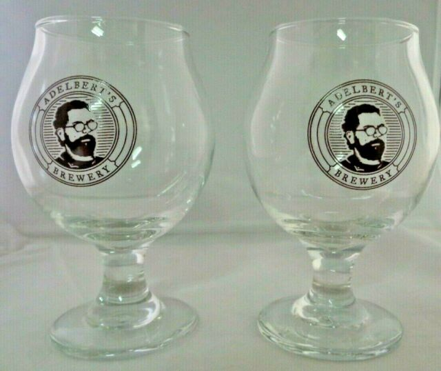 Austin TX Jester King Brewery Craft Beer Tulip Glass 1 or set Rare
