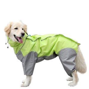 Small-Medium-Large-Dog-Raincoat-Clothes-Waterproof-Rain-Coat-Pet-Jumpsuit-Jacket