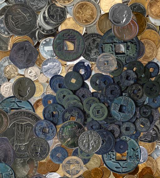 3D 3D 3D Collect Coins 742 Floor WallPaper Murals Wall Print Decal AJ WALL CA Lemon 2f5e38