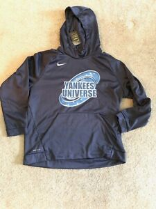 finest selection fb965 06b7f Details about NYY Universe Pullover Hoodie XXL– Nike Therma Dri-Fit – New +  Free Shipping