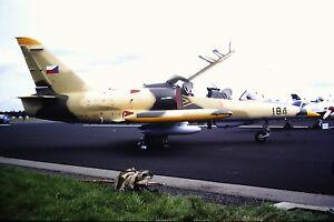 4-419-2-Aero-L-159-ALCA-Czech-Air-Force-184-Kodachrome-Slide