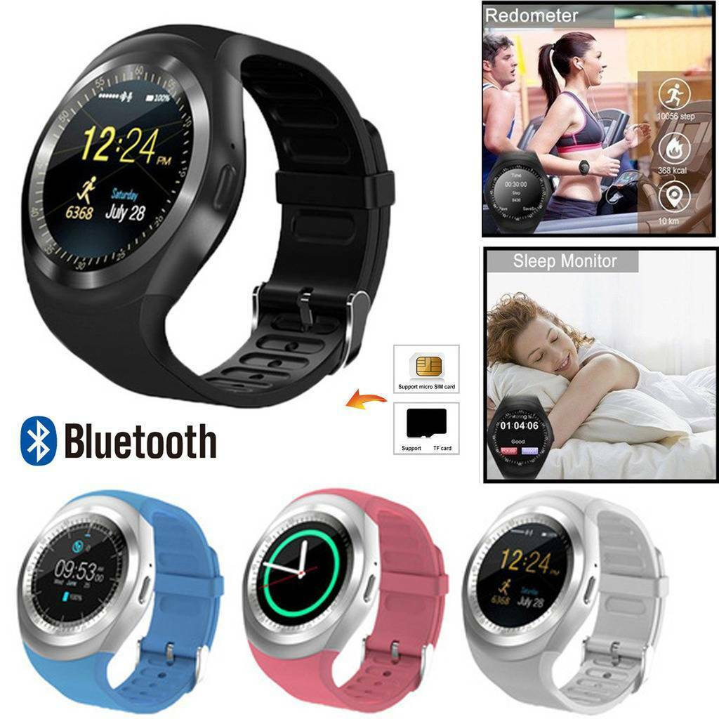 Boys Girls Bluetooth Smart Watch SIM Call Bracelet Sleeping Monitor for Android bluetooth boys bracelet call Featured girls monitor sim sleeping smart watch