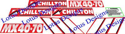 Chilton Loader stickers decals