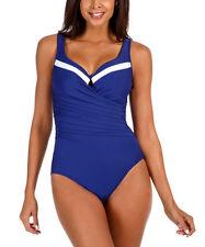 680a029f0bd Women's Nike Color Surge Bandeau Tank One Piece Swimsuit Medium Blue ...