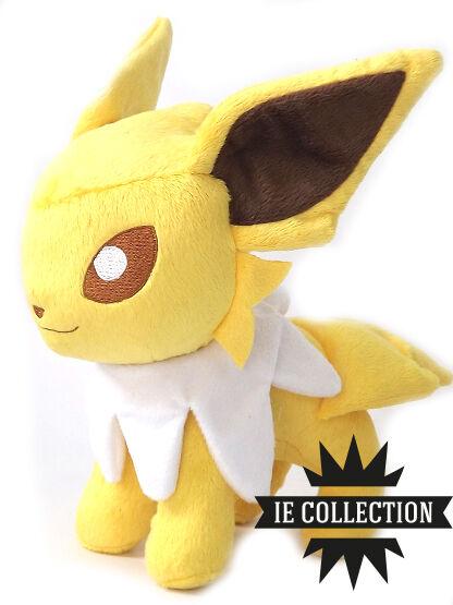 Pokemon Jolteon 30cm Peluche Muñeco de Nieve Allí Plush Eevee Blitza 135 Figura
