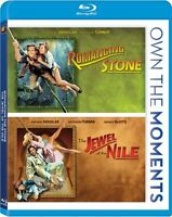 Romancing The Stone + Jewel Of The Nile Sealed Blu-ray Double Feature