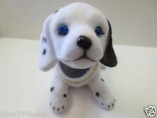 Puppy Dog/ Beagle Dog / Bobbing / White with Black Dot/ Bobble Head Doll / Toy