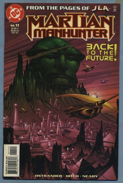 Martian Manhunter #11 1999 J'onn J'onzz Bryan Hitch DC Comics v