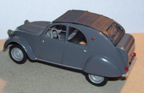 NOREV CITROEN 2CV AZLM 1956 GRISE COFFRE bombé 1//43 BLISTER BOX