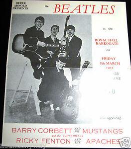 BEATLES-Concert-Memorabilia-Paul-McCartney-Pop-Music-Rock-n-Roll-Guitar-Band-UK