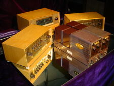Rare Fisher Tube Stereo System 80-AZ Amps 80-C Preamps & FM-80 Tuner + Cabinets