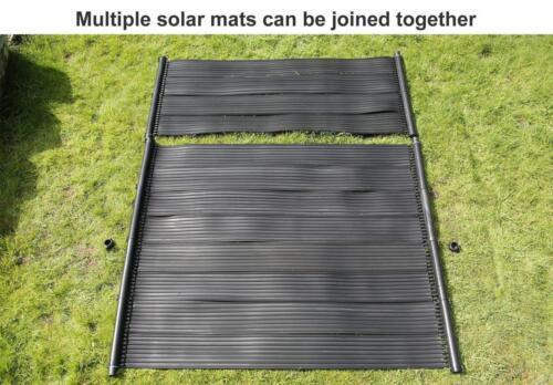 Chauffe-eau solaire Tapis piscine Hot Panneau Pompe Kit Enfants Free Sun Energy