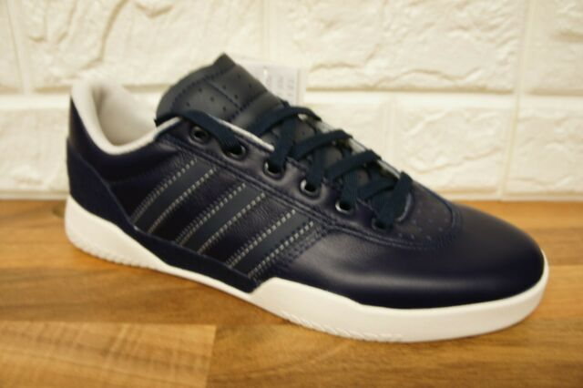 new products bc3b3 afc7b Adidas Originals City Cup Mens Size 7 Blue Leather Skate Shoes Trainers  BNWB NEW