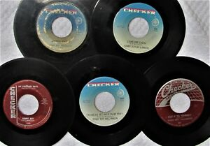 CHICAGO-BLUES-HARMONICA-LOT-SONNY-BOY-WILLIAMSON-Five-45s-on-CHECKER