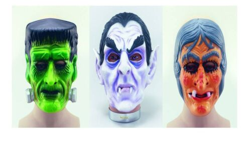 Plastic Scary Halloween Horror Fancy Dress Face Masks