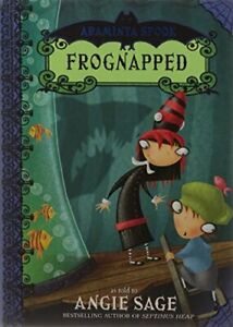 Araminta Spook: Frognapped, Sage, Angie, Used; Good Book