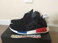 Adidas NMD XR1 PK Primeknit OG Black Blue Red Mens sizes BY1909