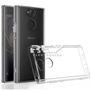 Funda-Silicona-para-SONY-XPERIA-XA2-Carcasa-Transparente-Protector-s527