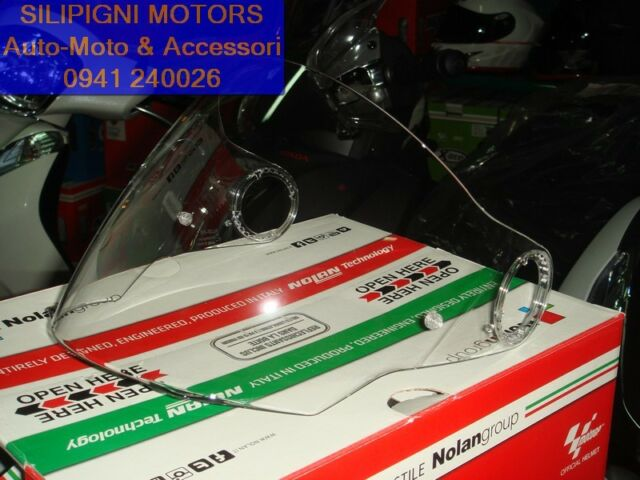 VISIERA CLEAR Trasparente Per NOLAN N40 / N40 FULL / N40-5 / N40-5 GT NolanGroup