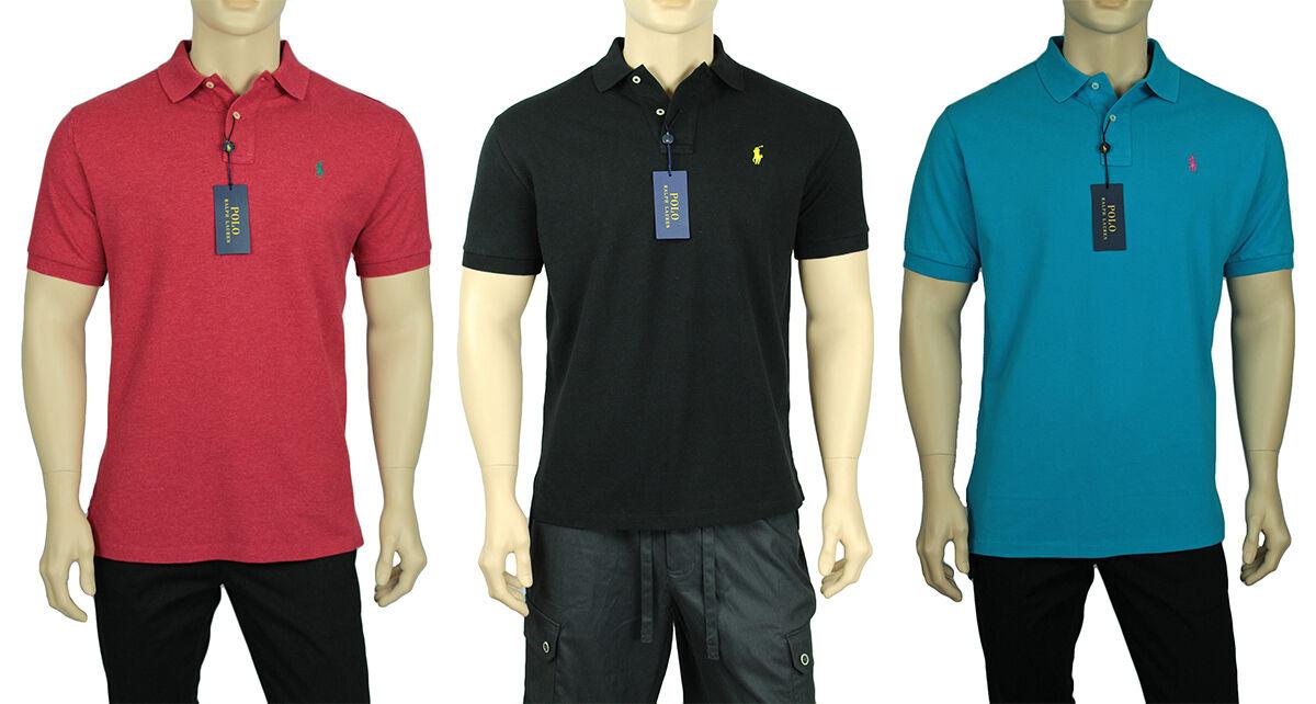 49732356 NEW MEN'S POLO RALPH LAUREN ICONIC MESH POLO SHIRT nqhued1194-Casual  Button-Down Shirts