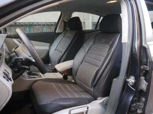 Sitzbezüge Schonbezüge für Mercedes-Benz C-Klasse NO114684 schwarz-grau