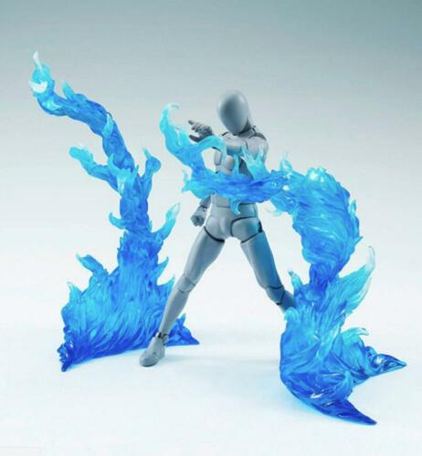 ☀️ EFFECT BURNING FLAME Blue D-Art Figma Kamen Rider gundam 1//6 figure hot toys