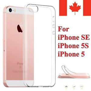 For-iPhone-SE-Case-amp-iPhone-5S-5-Case-Clear-Thin-Soft-TPU-Transparent-Cover