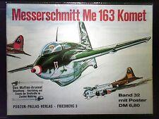 Waffen-Arsenal   Band 32   Messerschmitt Me 163 Komet  in Schutzhülle
