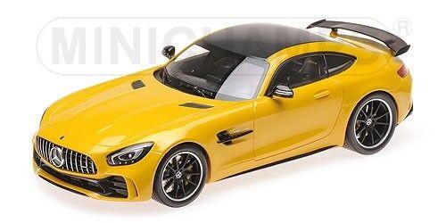 te hará satisfecho Minichamps 155036021 - MERCEDES AMG AMG AMG GT-R – 2017 amarillo 1 18  nueva marca