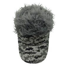 item 1 US Funny Men Adjustable Flair Hair Visor Casquette Hat Golf Fashion  Wig Cap -US Funny Men Adjustable Flair Hair Visor Casquette Hat Golf  Fashion Wig ... 4a4a5037f4fe
