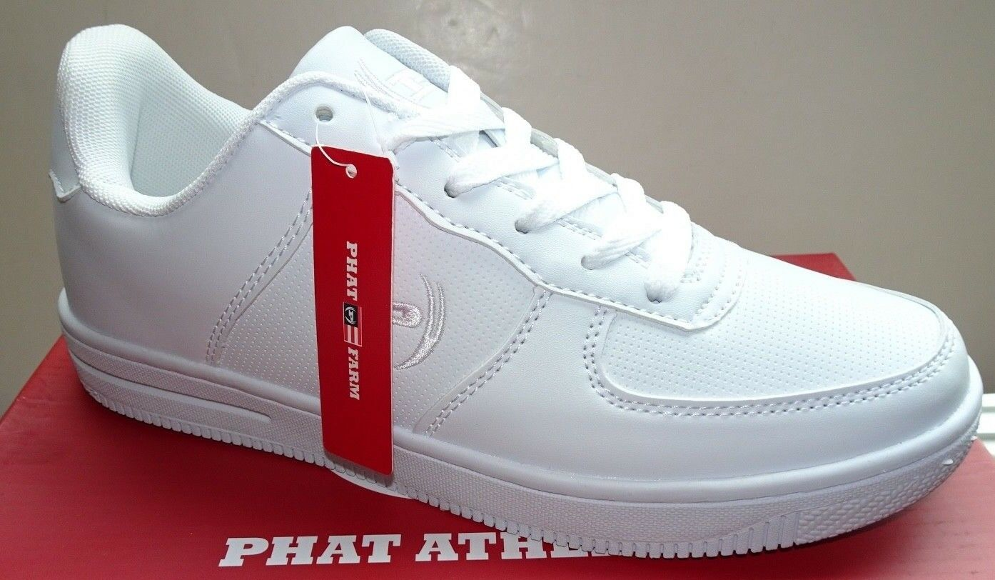 Phat Farm 'Perf' Men's Casual Athletic shoes 617388-01W   White   NWD  8,10,10.5
