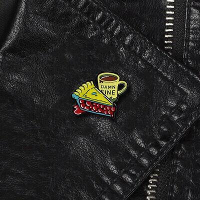 FA Cool Enamel Cake Coffee Cup Badge Collar Lapel Brooch Pin Clothes Jewelry Li   eBay