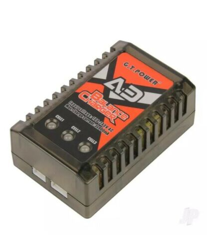 GT Power A3 Lipo 20W AC Charger GTP0056 UK Power Lead
