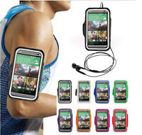 Soft Gym Jogging Running Sports Armband Belt Case Pouch For HTC M7 HTC One M8 M9