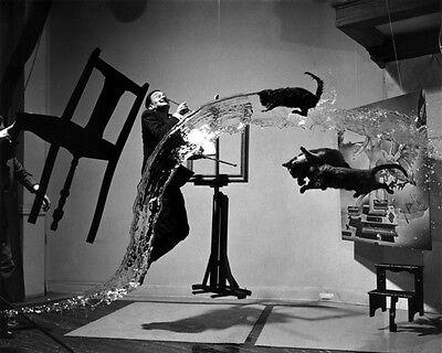 POTRAIT OF SALVADOR DALI AND MAN RAY IN PARIS 8X10 PHOTO CARL VAN VECHTEN 1934