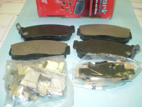 BECK ARNLEY PREMIUM FRONT DISC BRAKE PADS WITH HARDWARE Fits Nissan