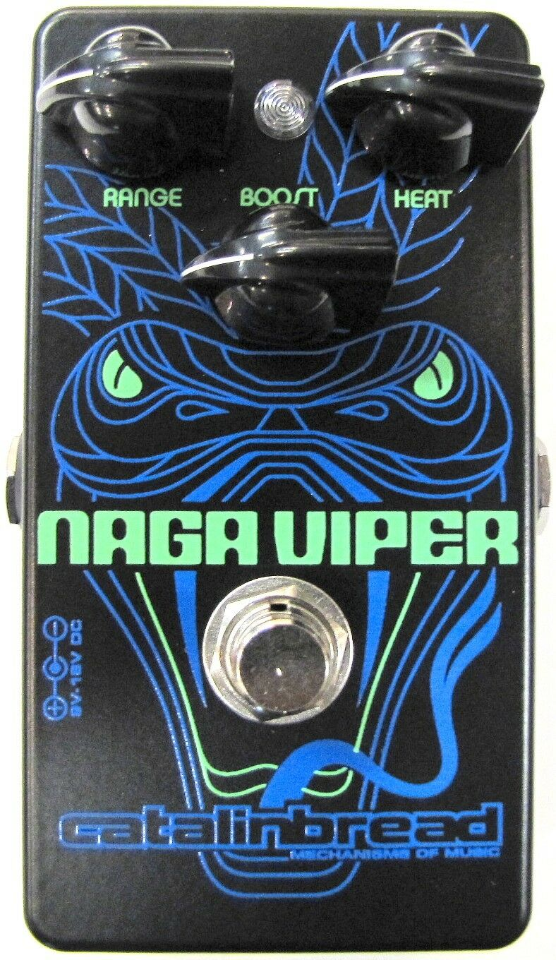 Used Catalinbread Naga Viper Treble Boost Guitar Effects Pedal