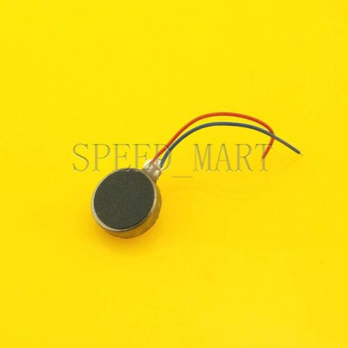 50pcs Pager Cell Phone Mobile Coin Flat Vibrating Micro Motor 3V 10mm Wholesale