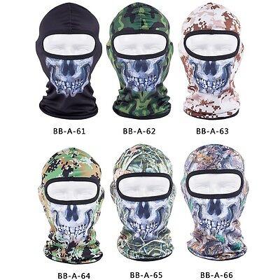 Outdoor Motorcycle Face Mask Balaclava Ski Neck Protection Warmer SAS Army Hat