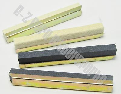 """Caritatevole Lisle 16440 - 80 Grit Stone Set 1.75-2.20"""" (44.5-55.9mm) Fits Lisle 16000 Hone Imballaggio Di Marca Nominata"""