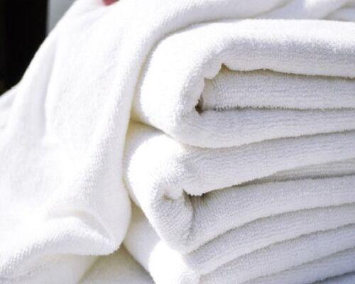 3 new hotel bath towels grade 24x50 100/% cotton new unused heavy duty