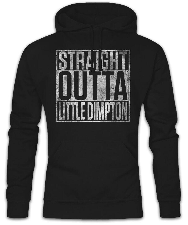 Straight Outta Little Dimpton Hoodie Sweatshirt The Benny Hill Fun Show