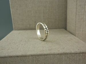 Sterling Silver Irish Ogham Ring Soulmate Soul Mate Made in Ireland